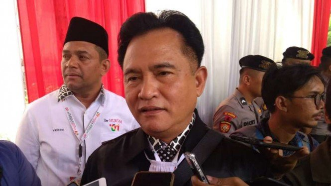 Ketua Tim Hukum Jokowi-Ma'ruf Amin, Yusril Ihza Mahendra.