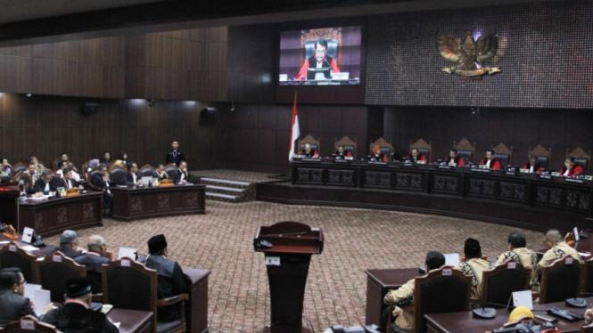 Sidang Putusan Sengketa Gugatan Pilpres 2019 di MK