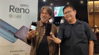 PR Manager Oppo Indonesia, Aryo Meidianto (kanan)