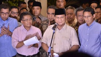 Capres 02 Prabowo Subianto gelar konferensi pers usai Putusan MK
