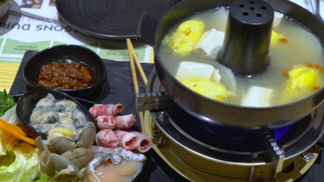 Hotpot durian.