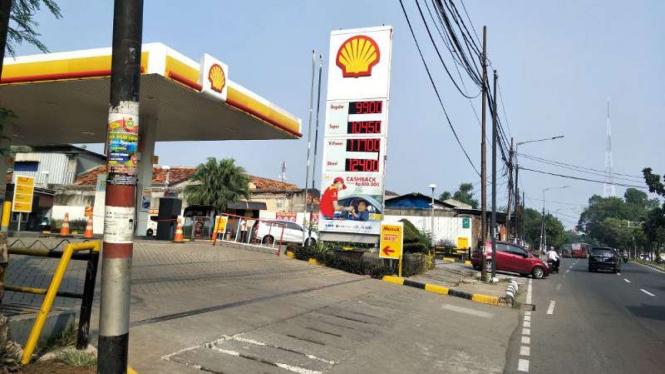 SPBU Shell di Jakarta