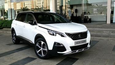 New Peugeot 5008