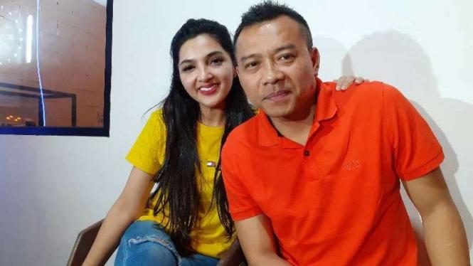 Ashanty dan Anang.