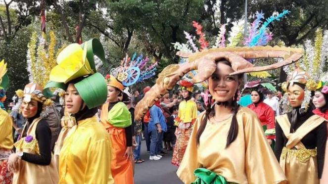 Pawai HUT Jakarta ke-492