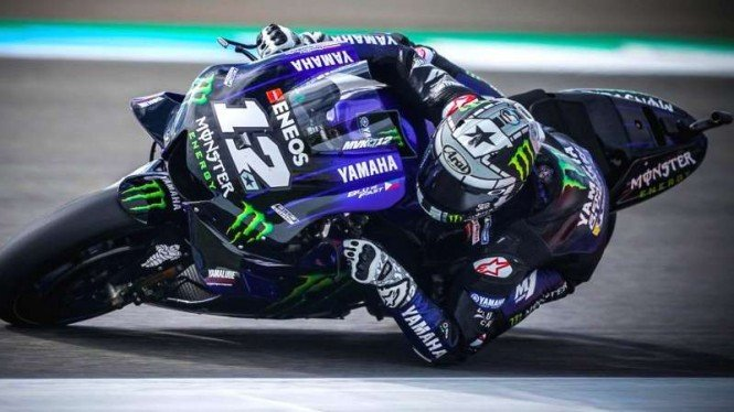 Pembalap Tim Monster Yamaha, Maverick Vinales