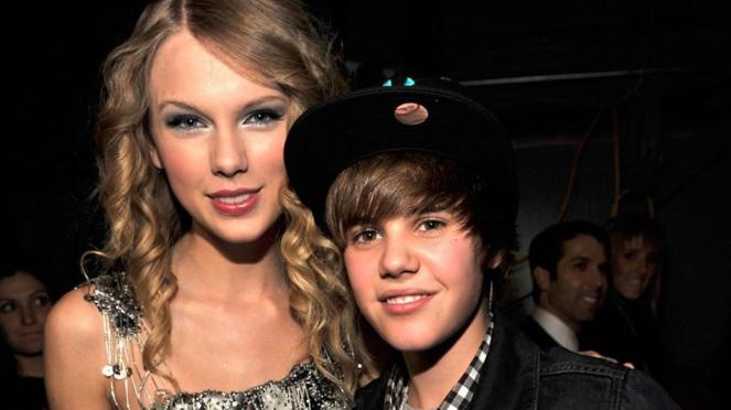 Justin Bieber dan Taylor Swift