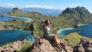 Solo traveler Bhena Geerushtia di Flores