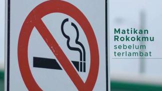 Imbauan Kemenkes untuk setop merokok