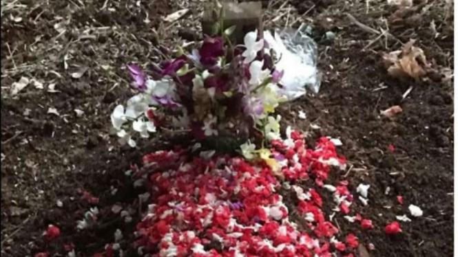 Kuburan anjing Mini Pin yang dibawa masuk majikannya ke Masjid Jami Al Munawaroh