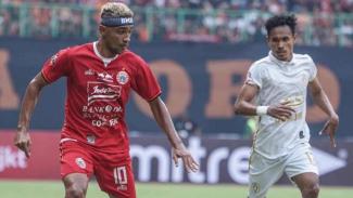 Pertandingan Liga 1 2019 antara Persija Jakarta kontra PSS Sleman