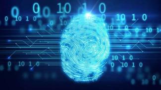 Ilustrasi Blockchain dan keamanan data.