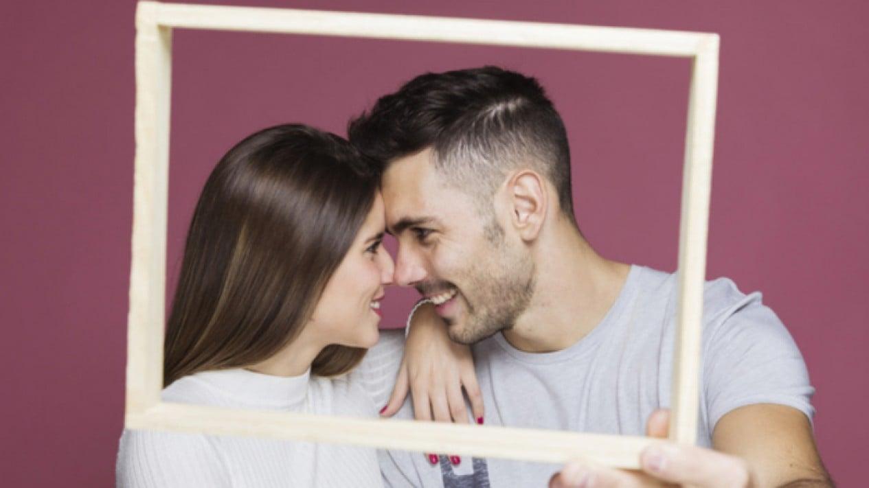 Ilustrasi pasangan.