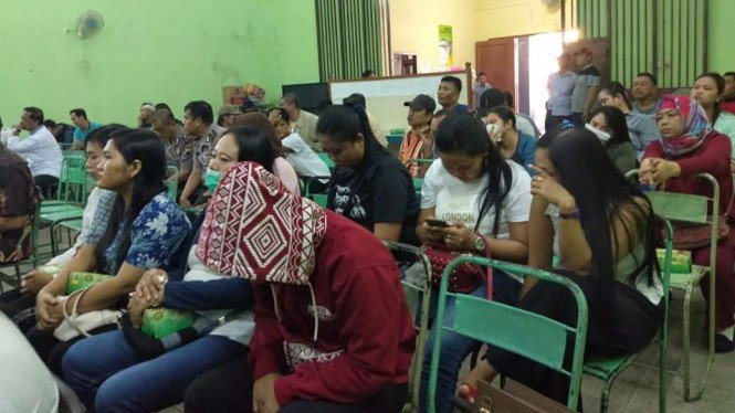 Sosialisasi penutupan lokalisasi Sunan Kuning, Semarang.