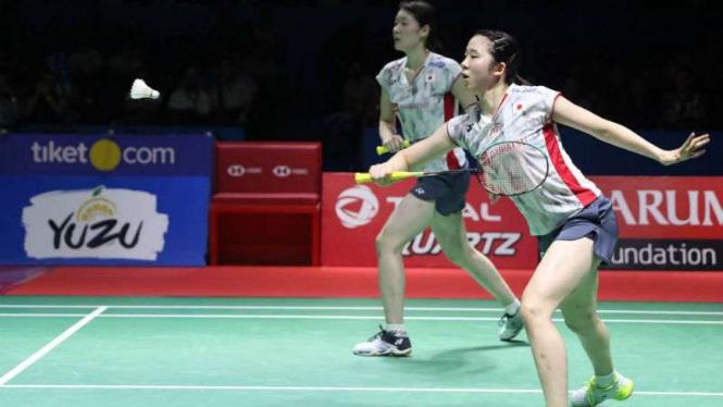 Mayu Matsumoto/Wakana Nagahara di final Indonesia Open.
