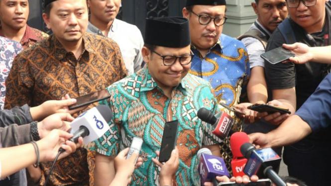 Ketum PKB Muhaimin Iskandar atau Cak Imin.