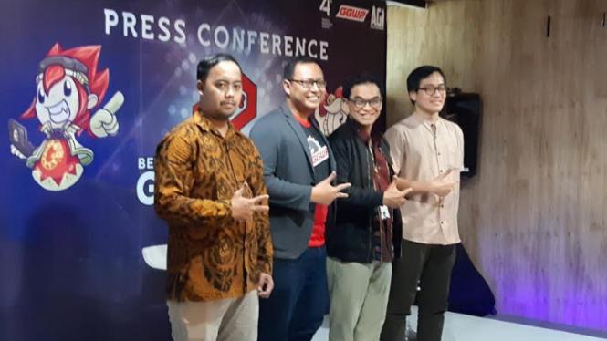 Konferensi pers Bekraf Game Prime