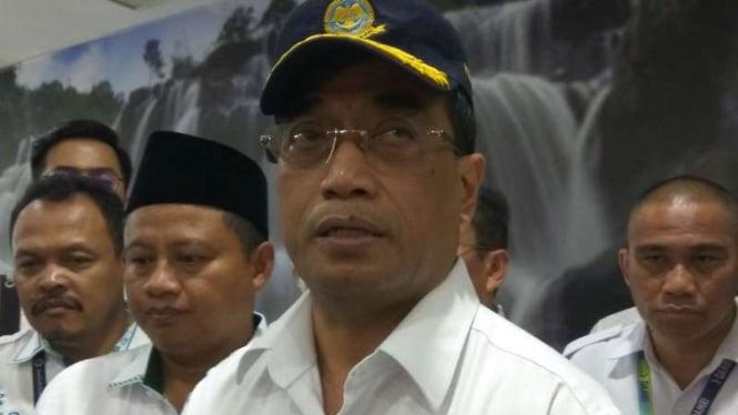 Menteri Perhubungan Budi Karya.