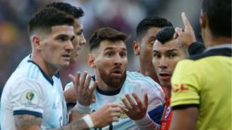 Kapten Argentina, Lionel Messi, diusir wasit di Copa America