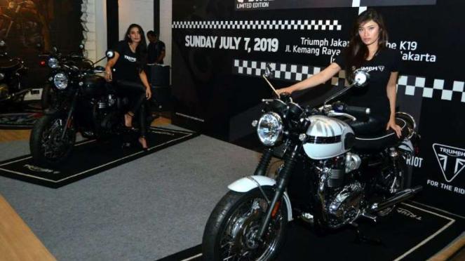 Dua motor baru Triumph edisi terbatas hadir di Jakarta