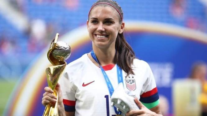Bintang Timnas wanita Amerika Serikat, Alex Morgan