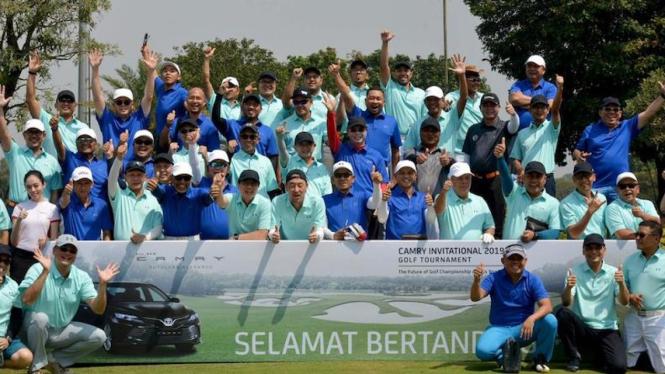 Gelaran Camry Invitational Golf Tournament (CIGT) 2019 oleh Toyota Astra Motor (TAM).