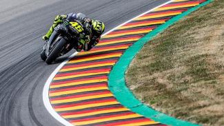 Pembalap Monster Yamaha, Valentino Rossi.