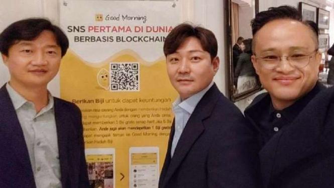 Startup asal Korea Selatan, My Credit Chain.