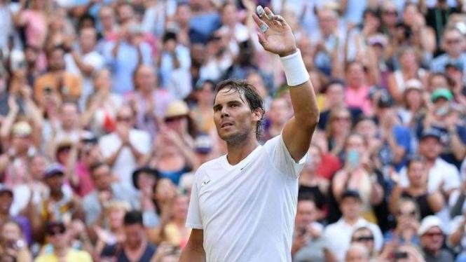 Petenis Spanyol. Rafael Nadal