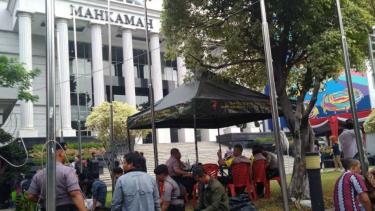 Pengamanan di Mahkamah Konstitusi