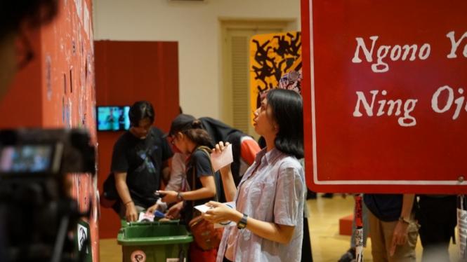 Pembukaan Pameran Seni Rupa Wirama Di Museum Sonobudoyo