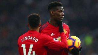 Pemain Manchester United, Jesse Lingard dan Paul Pogba