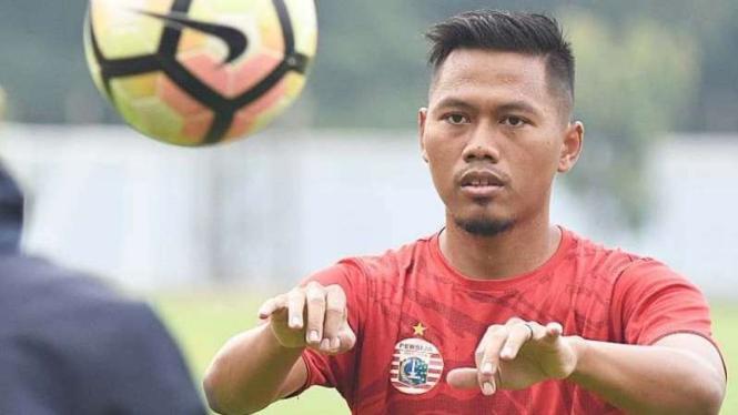 Pemain belakang Persija Jakarta, Tony Sucipto