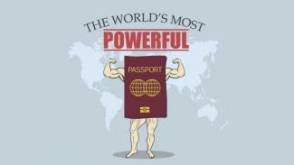 Tiap tahun Indeks Papor Henley mengeluarkan peringkat kekuatan paspor masing-masing negara.