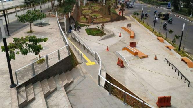Skate Park di Dukuh Atas