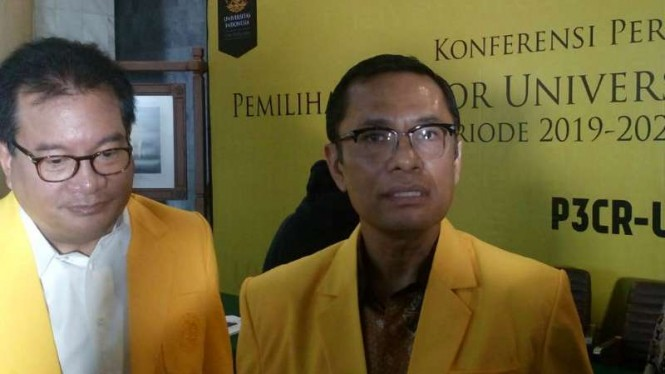 Ketua Pansus Pilrek UI, Prof Wiku Adisasmito