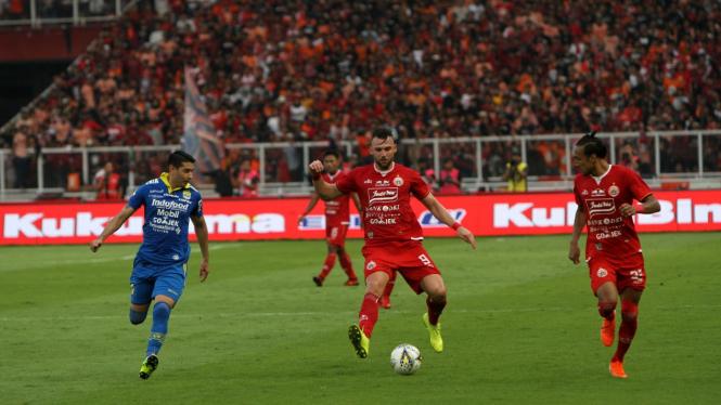 Persija Jakarta VS Persib Bandung Liga 1 2019, Marko Simic