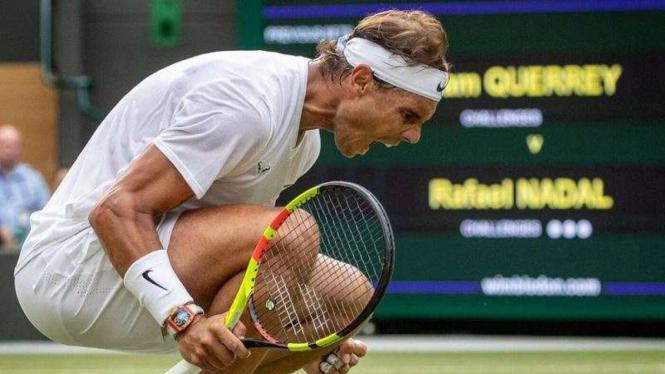 Semifinal Wimbledon, Federer dan Nadal Harus Saling Tikam