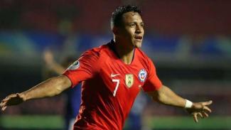 Penyerang Timnas Chile, Alexis Sanchez