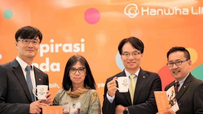 Peluncuran produk Asuransi Unit Link Hanwha Life Insurance Indonesia.