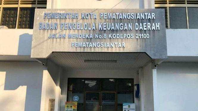 Kantor Badan Pengelolaan Keuangan  Daerah (BPKD) Kota Pematangsiantar.