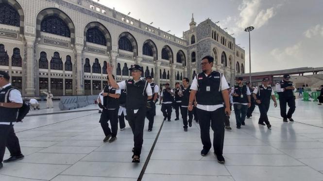 Sektor khusus Petugsa Indonesia melakukan orientasi lapangan