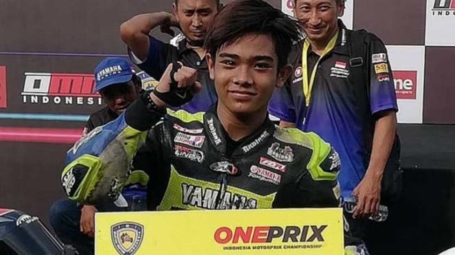 Pembalap Oneprix Robby Sakera