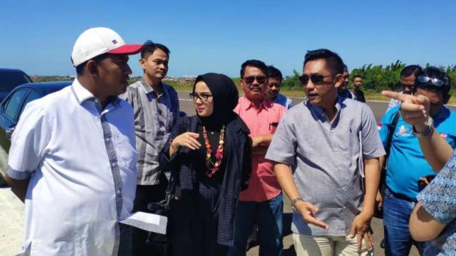 Wakil Bupati Sumenep Ahmad Fauzi di Surabaya, Jawa Timur, pada Jumat, 12 Juli 2019.
