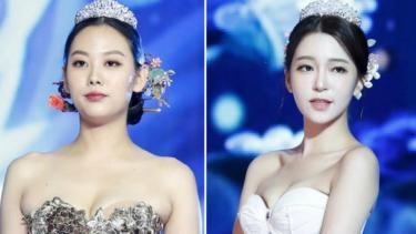 Hanbok seksi di ajang Miss Korea 2019.