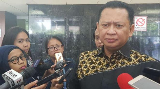 Wakil Koordinator Bidang Pratama Partai Golkar Bambang Soesatyo.