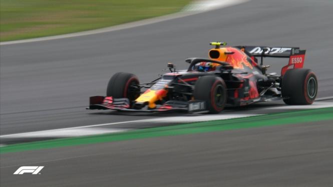 Pembalap Aston Martin Red Bull Racing Honda, Pierre Gasly.