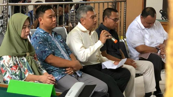 Lima komisioner KPU Sumsel divonis enam bulan penjara