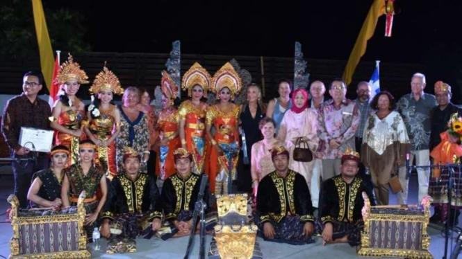 Gamelan Indonesia iringi lagu Yunani di Athena