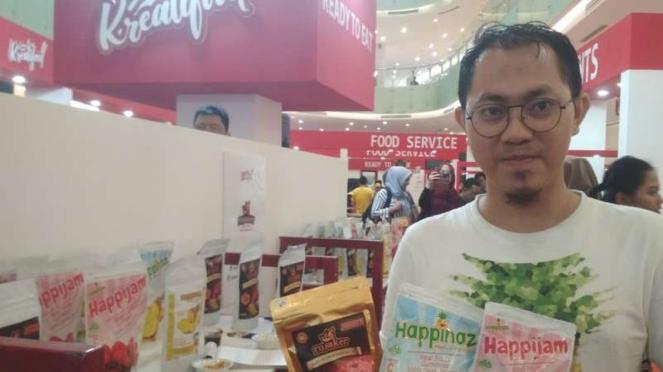 Pembukaan Kreatifood Expo di Ciputra World Mall Surabaya, Jatim (12/07/2019)